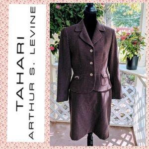 Tahari ASL Skirt Suit